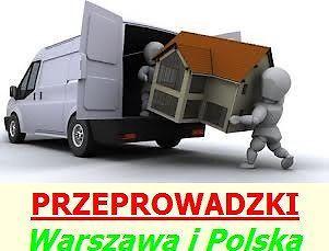 Przeprowadzki Warszawa, Taxi Bagażówka, Przewóz Transport Rzeczy TANIO