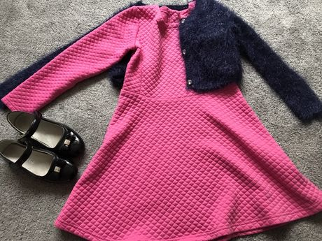 Paka dla dziewczynki rozmiar 122, buty,  firmowe, bluzki