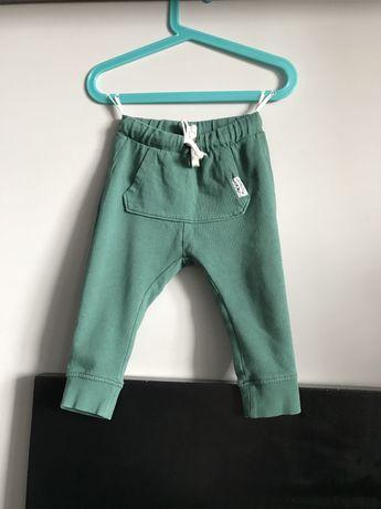 Zielone luźne spodenki H&M rozmiar 86