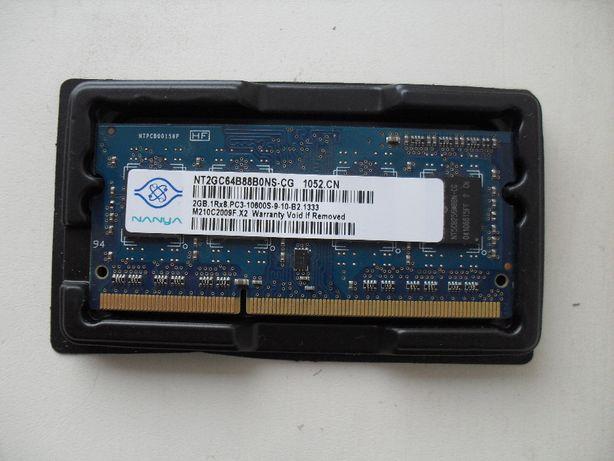 Планка памяти для ноутбука 2GB DDR3-1333 PC3