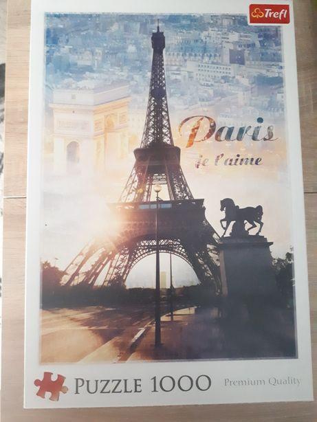 Paryż Puzzle 1000 elementów Paris