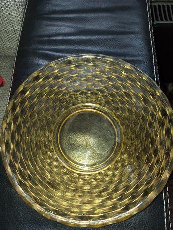 Miska szklano krysztalowa
