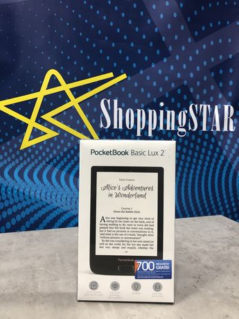 Електронна книга PocketBook 616 Basic Lux 2 Obsidian Black • Нова