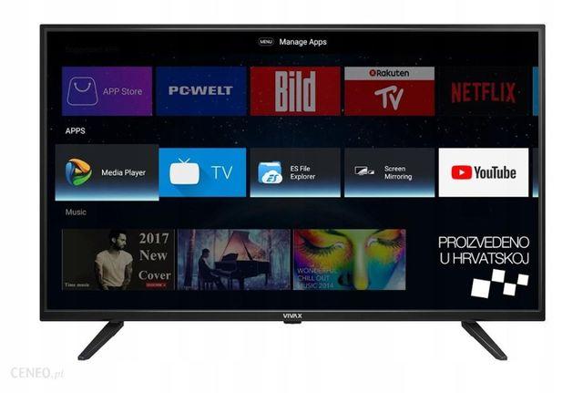 Telewizor 24,32,40,43 55 65 LED SMART TV VIVAX 4K ANDROID TV