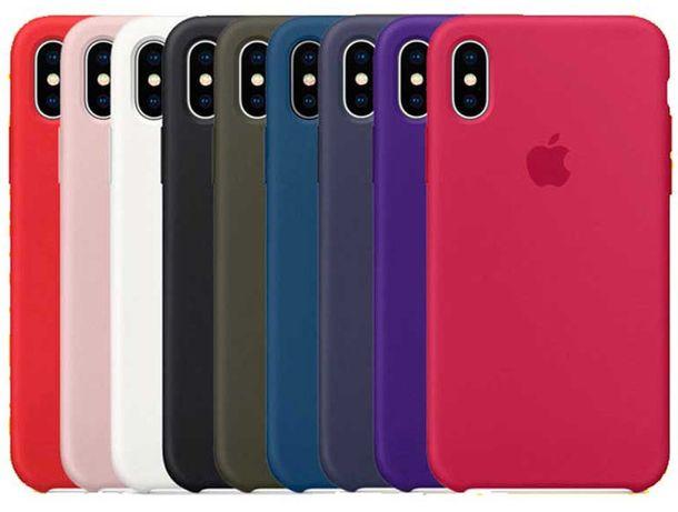 Чехол Silicone case на для Apple iPhone 6 6s 7 8 Plus X/XR 11 Чохол