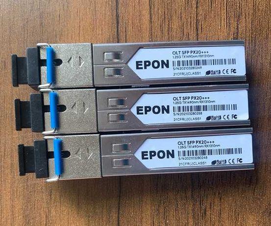 OLT модуль EPON px20+++ 8дбм