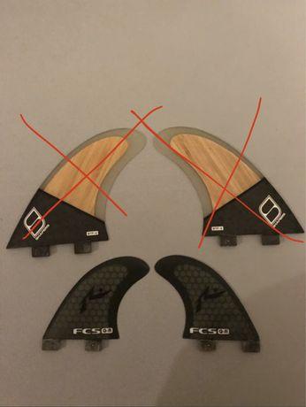Quilhas FCS Rusty Q-R - Quad Rear