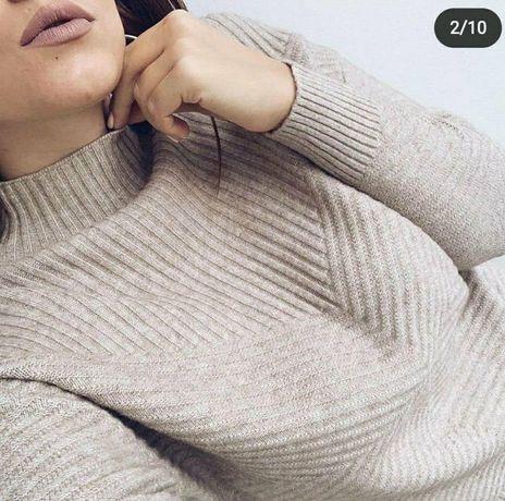 свитер новый стоечка