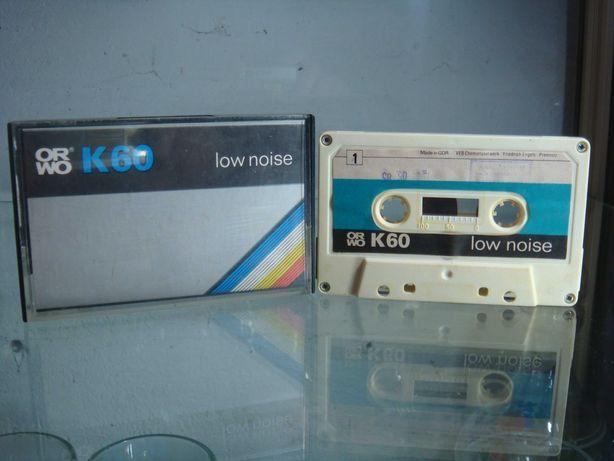 Kaseta magnetofonowa ORWO K60 Low Noise