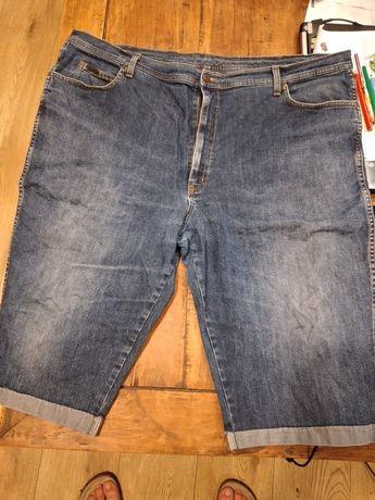 Spodenki męskie Wrangler krótkie, do kolan, dżinsy, xxxl