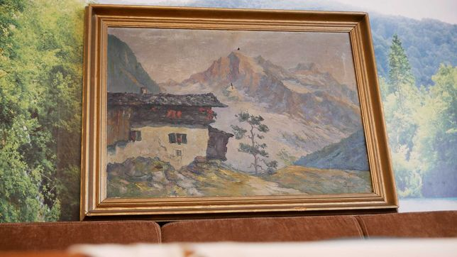 Unikalny obraz węgierskiego malarza - Istvan MEGYERY (1898 - 1972)