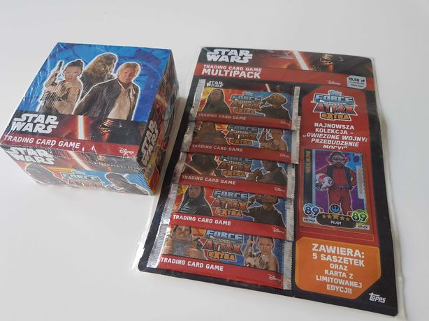 Karty Star Wars Force Attax Extra