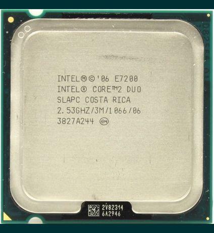 Процессор Intel Core2 Duo E7200