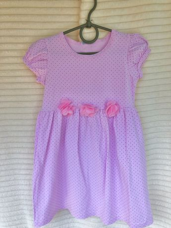 Платье летнее нарядное на девочку 2, 3, 4 года, 98, 110