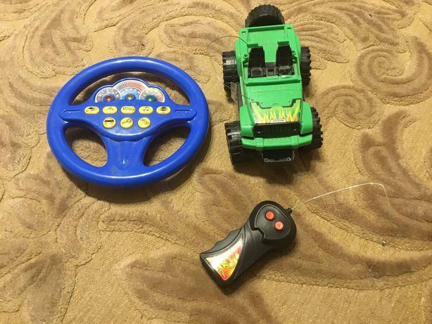 Машинка на радиоуправлении + Звуковой руль