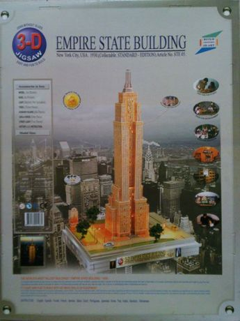 Empire State Building 3D Jigsaw Puzzle