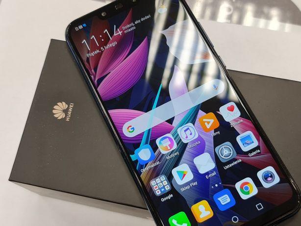 Huawei Mate 20 Lite Dual SIM/ Niebieski/ mikro zbita szybka/ 100% OK