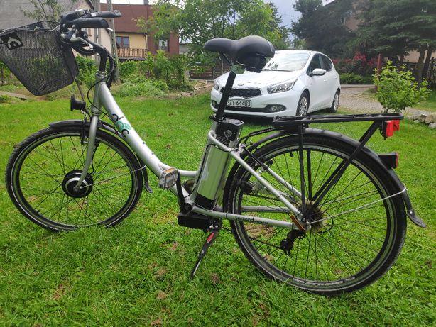 rower elektryczny damka OKAZJA !!!