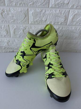 Бутсы копы кроссовки Adidas X 15.2 (42р)