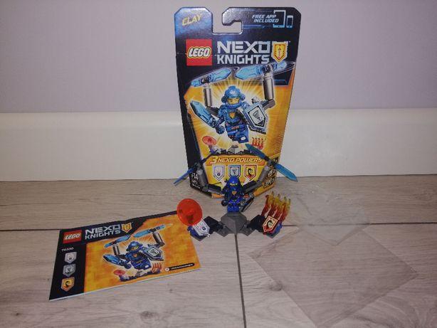 Lego Nexo Knights 70330 Clay ze zbroją. OPIS.