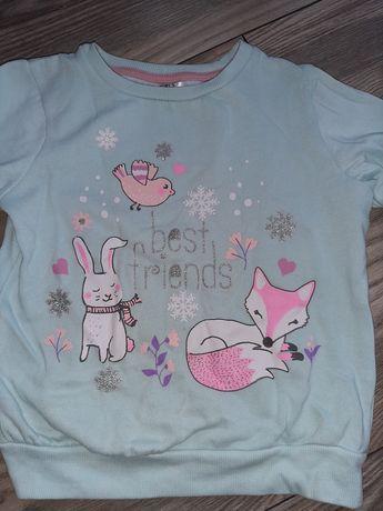 Śliczna bluza dla dziewczynki 116cm