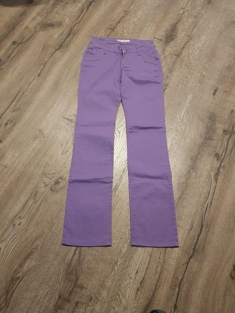 Fioletowe spodnie roz.S/M