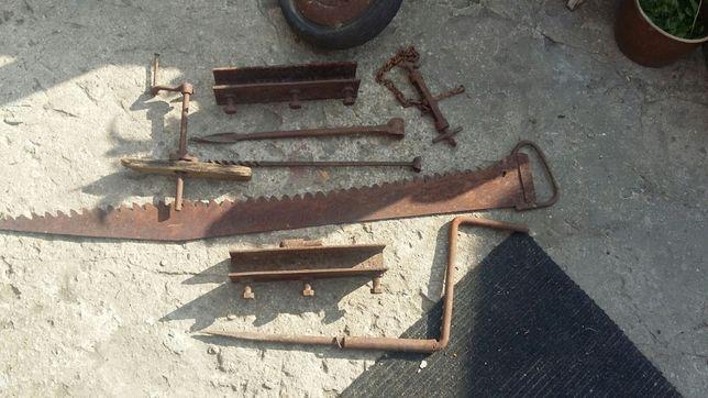 Wykopaliska warsztatowe, narzędzia itp