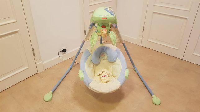 Huśtawka bujaczek Fisher Price Swing Baby Papasan