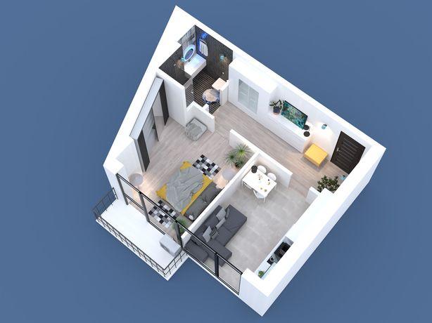 Продам 43м2 однокомнатную квартиру ж/м Фрунзенский Беляева 8
