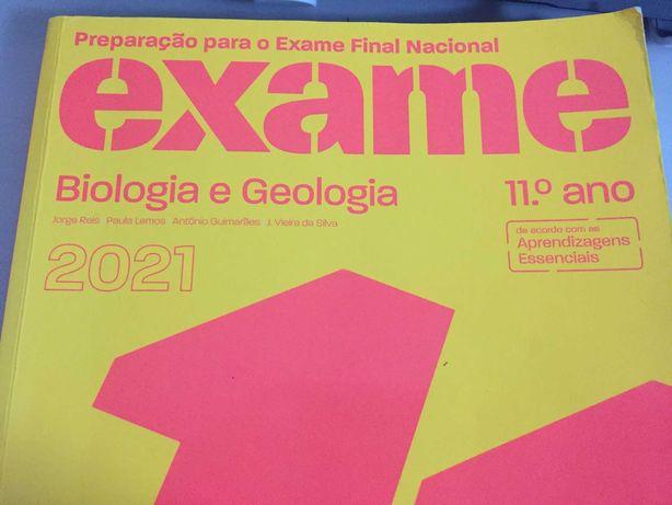 LIVRO DE PREPARAÇÃO PARA EXAMES - Biologia e geologia 11ºano