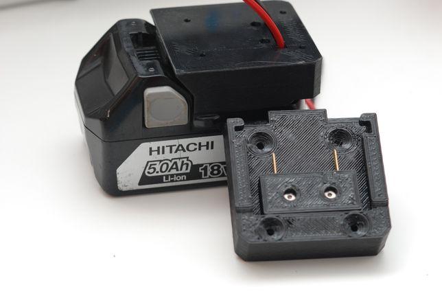 Adapter do baterii HITACHI 18V / HIKOKI 18V z konektorami