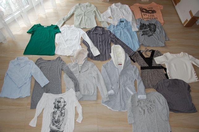 paczka zestaw ubrania rozm. S, M 36 H&M C&A reserved zara orsay 18 szt