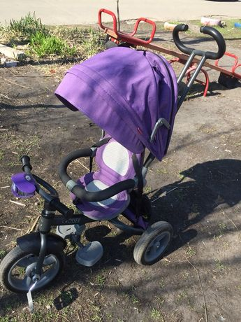 Детский трехколёстный велосипед Crosser