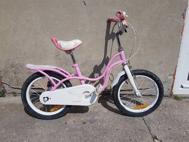 Rower dziewczęcy koła 16 cali.