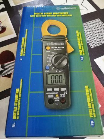 Pinça Amperimétrica Digital - 400 A - DCM330