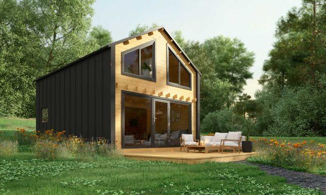 Dom nowoczesny - Stodoła