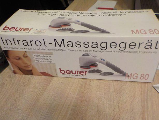 aparat do masażu beurer mg 80 z promiennikiem podczerwieni