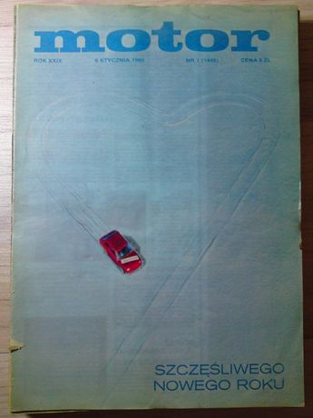 Tygodnik Motor rocznik 1980