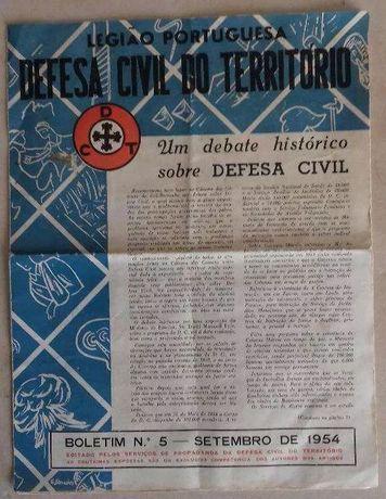 Boletim da Legião Portuguesa do ano de 1954