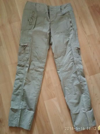 Штаны брюки трекинговые лес поход дача М