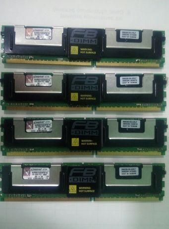 Оперативная память Kingston KVR667D2D8F5 4x1Gb=4Gb