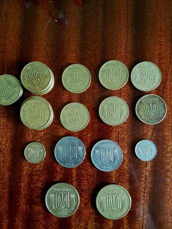 Монеты СССР И Гривны  1992 года  .
