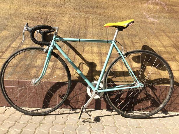 Велосипед синглспид Bianchi, single speed (не фикс, fixed gear, fix)