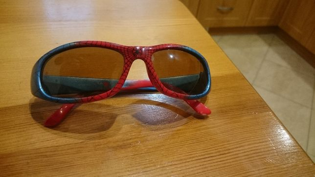 Okularki dla chłopca z filtrem uv