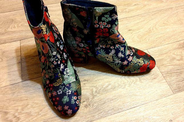 Оригинальные полусапожки/женские ботинки