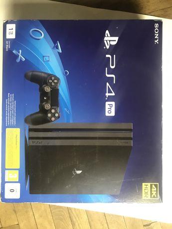 Sony PlayStation  4 pro 1 tb jet black