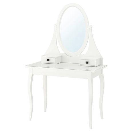 Toaletka HEMNES biała ikea