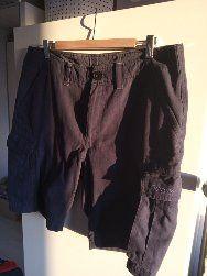 Bergans Spodnie spodenki Granatowe Super materiał