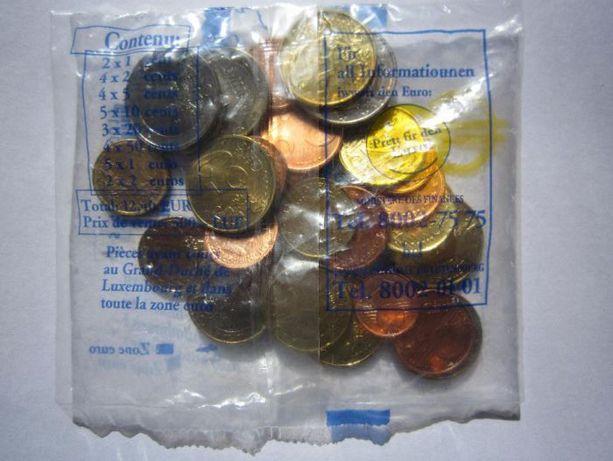 Starter Kit Euros Luxemburgo 2002