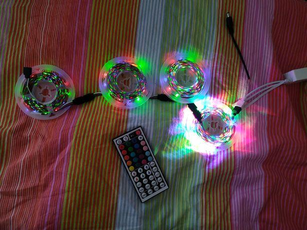 20m de leds RGB (4x5m)